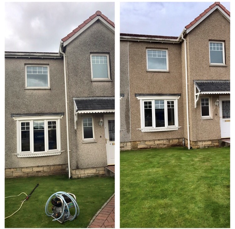 Render cleaning in Fife